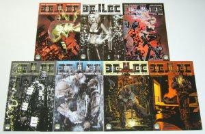 Dellec #0 & 1-6 VF/NM complete series - all B variants - aspen comics set lot