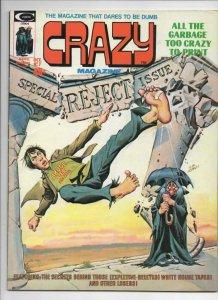 CRAZY #7 Magazine, FN, Nixon, Kung-Fu, 1973 1974, more in store