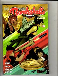 Bombshells Vol. # 4 Queens DC Comics TPB Graphic Novel Comic Book Batman J346