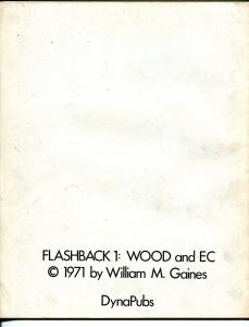 Flashback #1 1971-1st issue-EC sci-fi stories-Wally Wood art-William M Gaines-FN