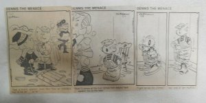 (300) Dennis The Menace Dailies by Hank Ketcham 1-12,1979 Size: 2 x 4.5 inches