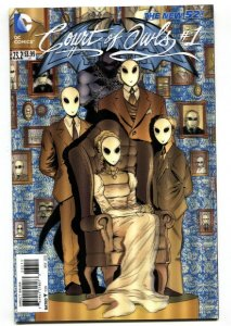 Batman And Robin-#23.2-Court Of Owls-#1-3-D Variant-New 52-NM