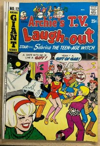 ARCHIE TV LAUGH-OUT #12 (Archie, 5/1972) (VG-) Sabrina, Dan DeCarlo, Josie cvr!