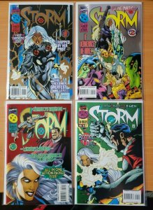 X-Men STORM 1-4 Complete Set Run! ~ NEAR MINT NM ~ 1996 Marvel Comics