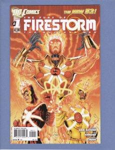 Fury of Firestorm #1 FN/VF