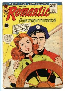 My Romantic Adventures #80 1957-WOMAN DISFIGURED story