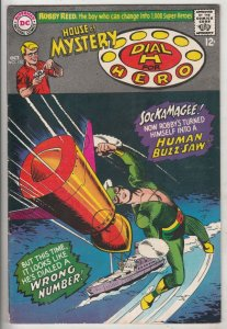 House of Mystery #170 (Oct-67) VF- High-Grade Martian Manhunter, Dial H. for ...