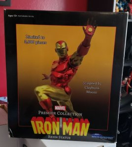 Marvel Premier Collection IRON MAN Statue NIB by DST (2017) L/E #344/3000