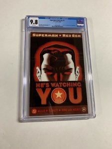 Superman Red Son 3 Cgc 9.8 White Pages Dc Comics