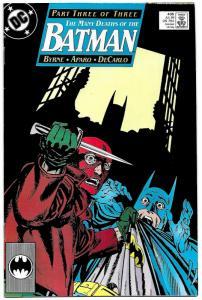 Batman #435 Many Deaths of Batman Pt 3 (DC, 1989) VF