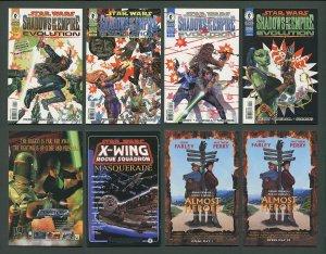 Star Wars Shadows Empire Evolution #1  #2  #3  #4 (SET  / 9.6 - 9.8 NM-MT 1998