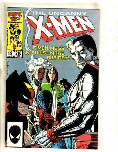 Uncanny X-Men # 210 NM Marvel Comic Book Wolverine Sabretooth Storm Beast HJ9