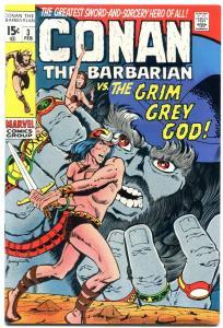 CONAN #3 1971-MARVEL COMICS-GRIM GREY GOD-BARRY SMITH VF+