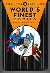 World's Finest Archives-Vol 3-Golden Age Color Reprints-Hardcover