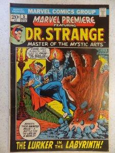 MARVEL PREMIERE # 5 DR STRANGE