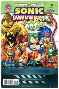 SONIC UNIVERSE #30 2011- Archie Comics- Sega  VF/NM