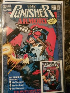 Punisher Armory #1 (Marvel,1990) Condition NM+