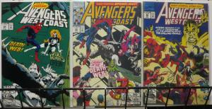 AVENGERS WEST COAST 84-86 Spiderwoman Spidey