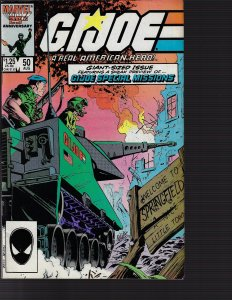 G.I. Joe: A Real American Hero #50 (Marvel, 1986)