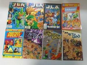 JLA Justice Prestige lot 51 different issues avg 8.0 VF