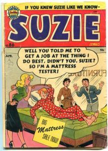 Suzie #86 1952- Archie Golden Age comic- Katy Keene G