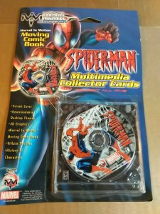 Marvel In Motion: Moving Comic Book part 1 of 5 Spider-Man (CD-ROM 2002)