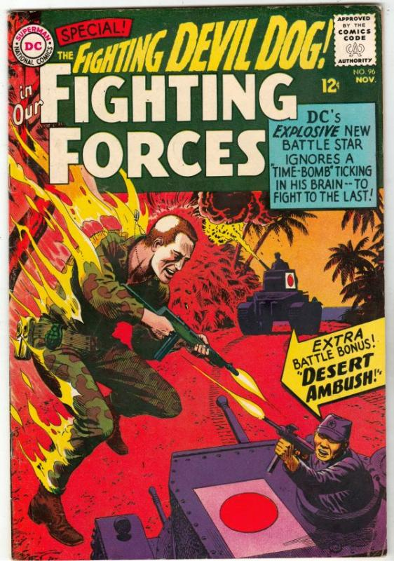 Our Fighting Forces #96 (Nov-65) VF/NM High-Grade Lt. Larry Rock, the Fightin...
