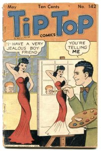 Tip Top Comics #142 1948- great cover- Li'l Abner FR