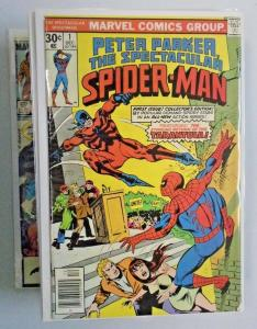 Peter Parker Spider Man Lot #s below - 107 diff books 8.0/VF (1976)