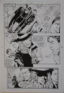 PHIL JIMENEZ / ROMEO TANGHAL original art, ROBIN #6 pg 3, 11x17, 1993