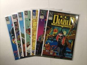 El Diablo 2 3 5 6 7 8 9 Lot Run Set Near Mint Nm Dc Comics