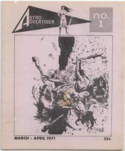 Astro Advertiser #1 April-May 1971 Frank Frazetta cover FN+