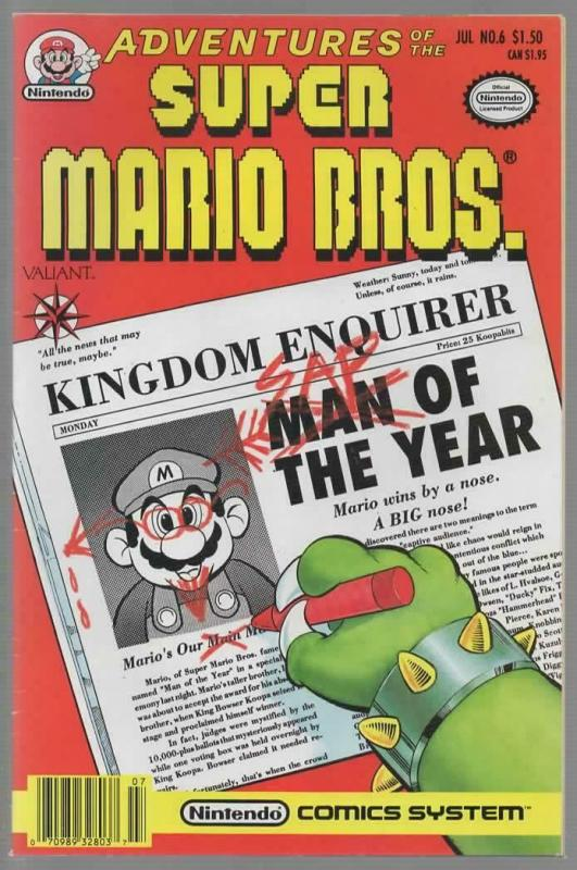 ADVENTURES OF THE SUPER MARIO BROTHERS 6 FN- July 1991