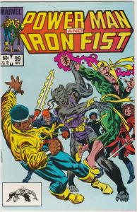 6 Power Man and Iron Fist Marvel Comic Books # 99 101 102 108 118 123 J195