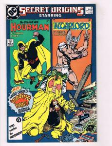 Secret Origins #16 FN DC Comics Comic Book JLA Hourman July 1987 DE34