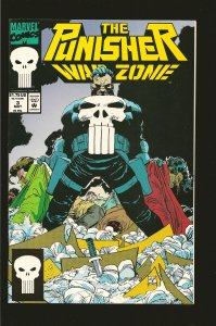 Marvel Comics The Punisher War Zone Vol 1 No 3 May 1992
