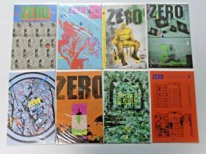 Zero run #2 to #18 - 16 different books - 8.5 - 2013