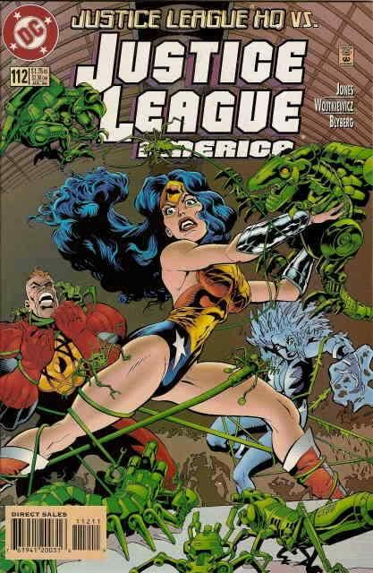 Justice League America #112 VF/NM; DC | save on shipping - details inside