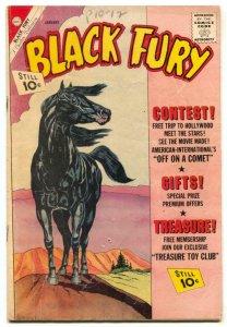 Black Fury #34 1961-Charlton Western VG