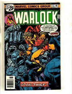 Warlock # 13 NM- Marvel Comic Book Thanos Avengers Hulk Thor Gamora Pip GK4