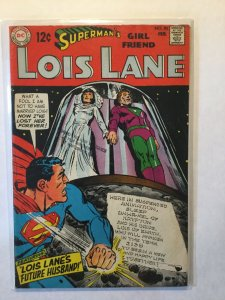 Superman's Girl Friend Lois Lane 90 Very Good/Fine Vg/Fn 5.0 Extra Staple Dc
