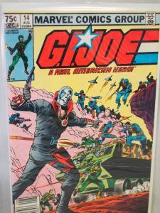 G.I. Joe A Real American Hero 14 VF/NM Unread.  1984
