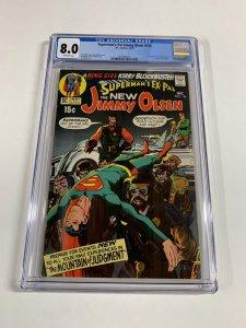Supermans Pal Jimmy Olsen 134 Cgc 8.0 Ow Pages 1st Darkseid Dc Comics