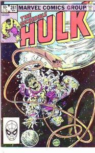 Incredible Hulk #281 (Mar-84) VF/NM- High-Grade Hulk no tattoo