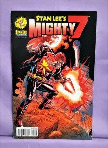 Stan Lee Comics STAN LEE's MIGHTY 7 #1 Alex Saviuk Variant Cover (Archie, 2012)!