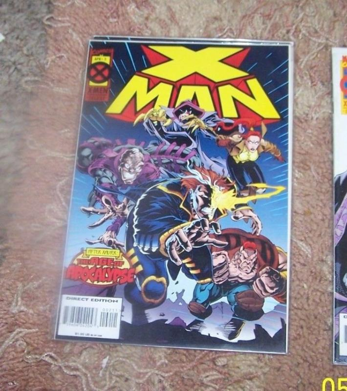 X -Man  # 2  AOA   after xavier- age of apocalypse cable x-men nate gray