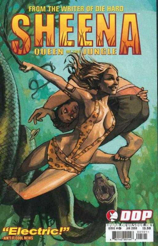 Sheena, Queen of the Jungle (Devil's Due) #5A VF/NM; Devil's Due | save on shipp