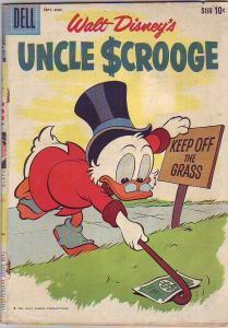 Uncle Scrooge, Walt Disney #31 (Sep-60) VG Affordable-Grade Uncle Scrooge