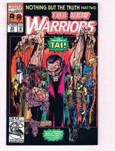The New Warriors #23 VF Marvel Comics Comic Book May 1992 DE24