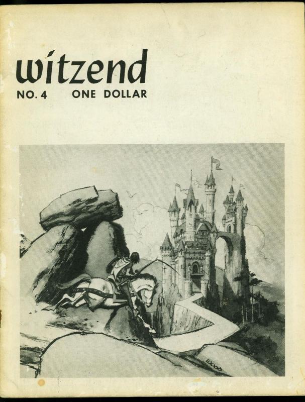 Witzend #4 1967- Wally Wood Pro fanzine- Ditko- Frazetta- Grass Green VG